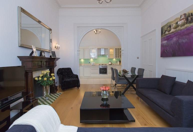 Westbourne Apartments by The Residences, London, Luxury külaliskorter, 2 magamistoaga (W3), Elutuba