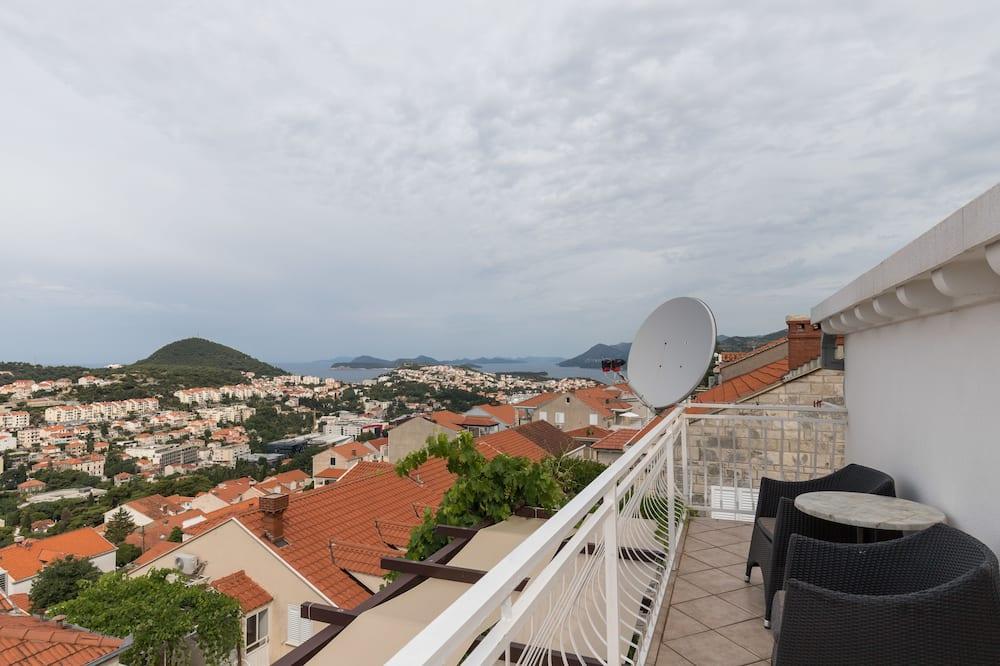 Apartamento, 2 quartos, Sacada, Vista para o mar - Varanda