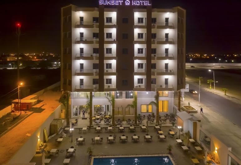 Sunset Hotel, Nouakchott, Hotelfassade
