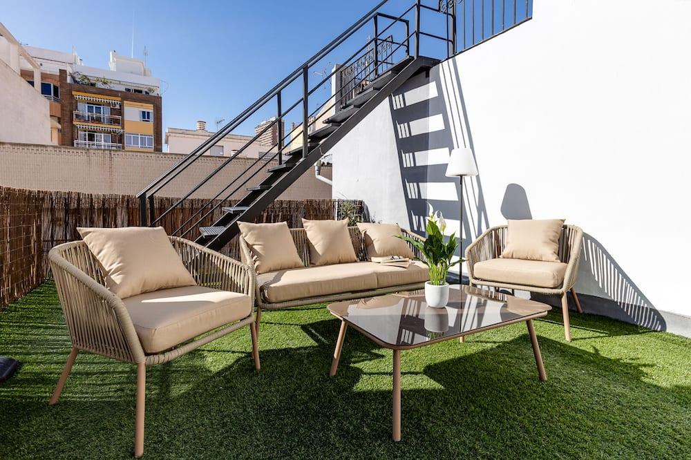 Premium katusekorter, 2 magamistoaga, terrass - Terrass