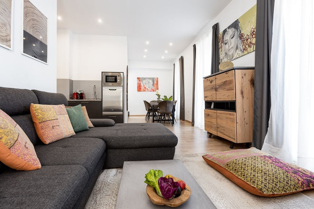Premium katusekorter, 2 magamistoaga, terrass - Lõõgastumisala