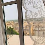 Pokoj s panoramatickým výhledem, výhled do zahrady - Výhled z balkonu