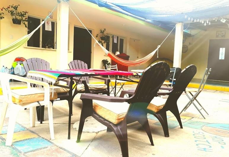 Abu Hotel, Panajachel, Outdoor Dining