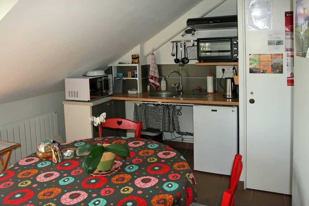 Kamar Double Bisnis (La Loire) - Dapur bersama