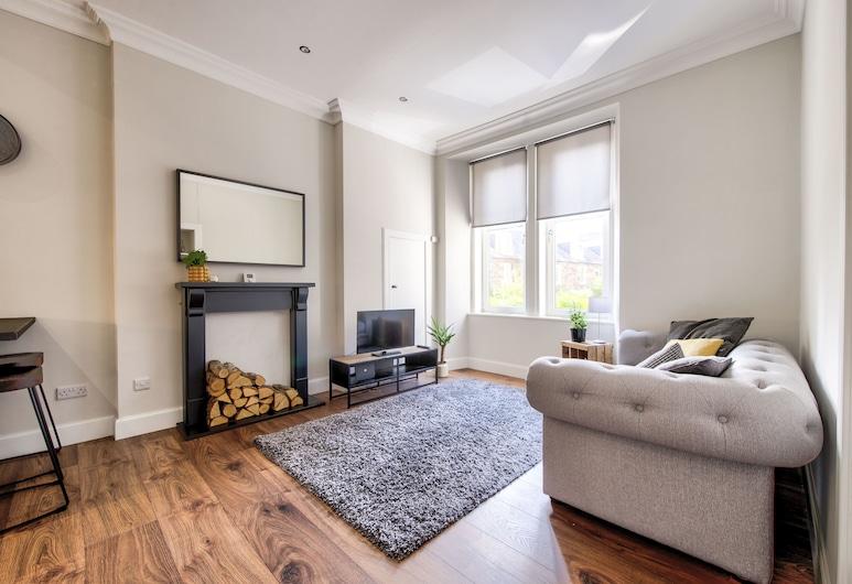 Stylish Modern Apartment Free Parking, Edinburgh, Apartment, Room
