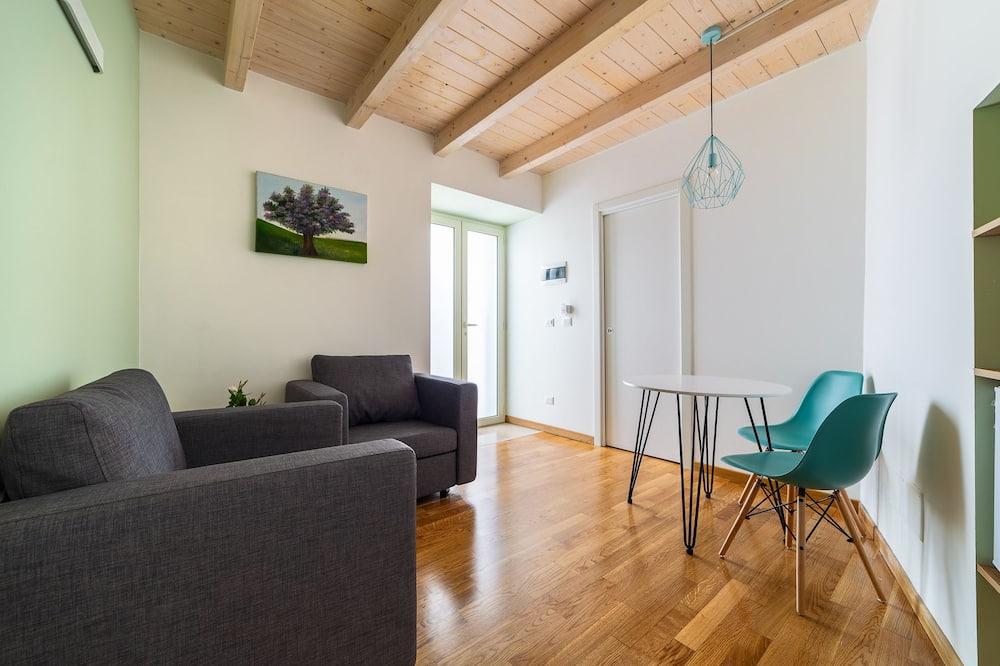 Klasikinio tipo dvivietis kambarys - Svetainės zona