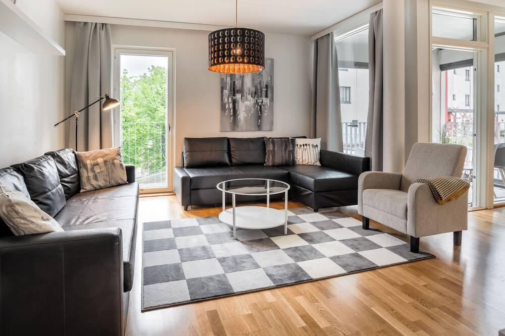 Apartamento, 2 Quartos, Sauna - Sala de Estar