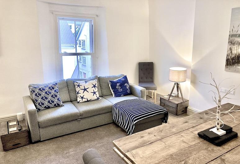 Air Sanitizers and Full Anti-Bacterial Cleaning Between Guests - Nancie's Place, Dartmouth, Apartment, Ruang Tamu