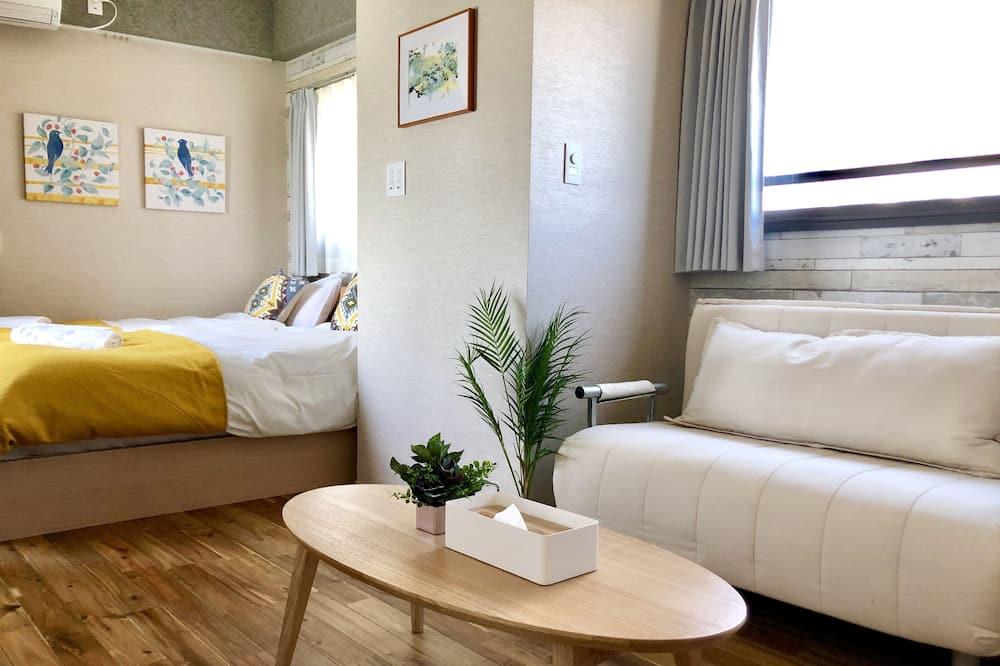 Huoneisto, 1 makuuhuone - Oleskelualue