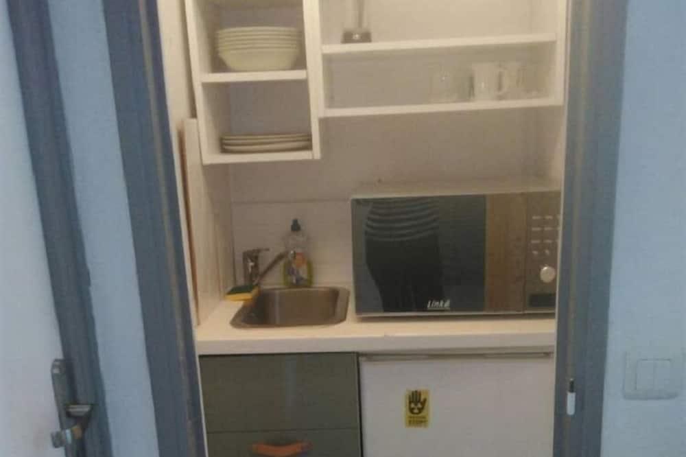 Dvojlôžková izba, terasa, na prízemí (n°1) - Spoločná kuchyňa
