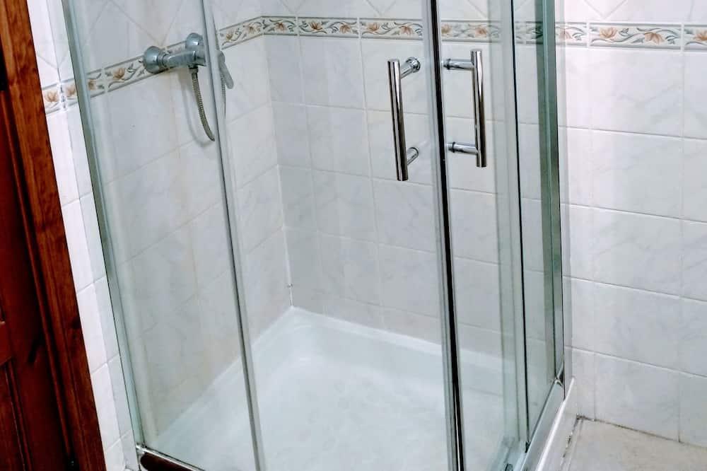Dzīvokļnumurs, divas guļamistabas - Vannasistabas duša