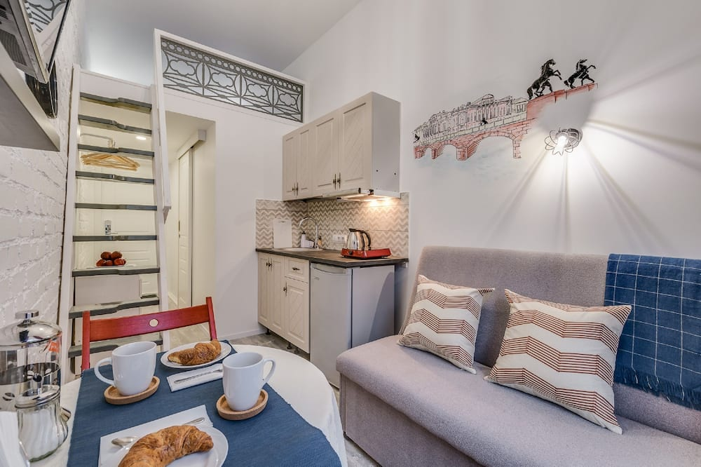 City Apartment, City View - In-Room Dining