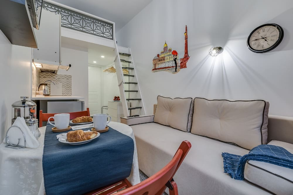 Standard Apartment, City View - In-Room Dining