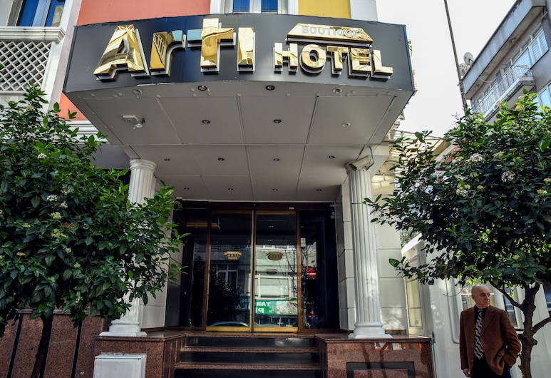 Arti Boutique Hotel, Istanbul, Hotellets front