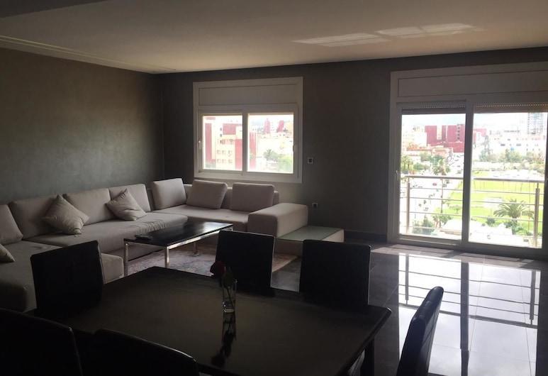 Oujda Appart, Oujda, Lägenhet - 3 sovrum - terrass, Vardagsrum