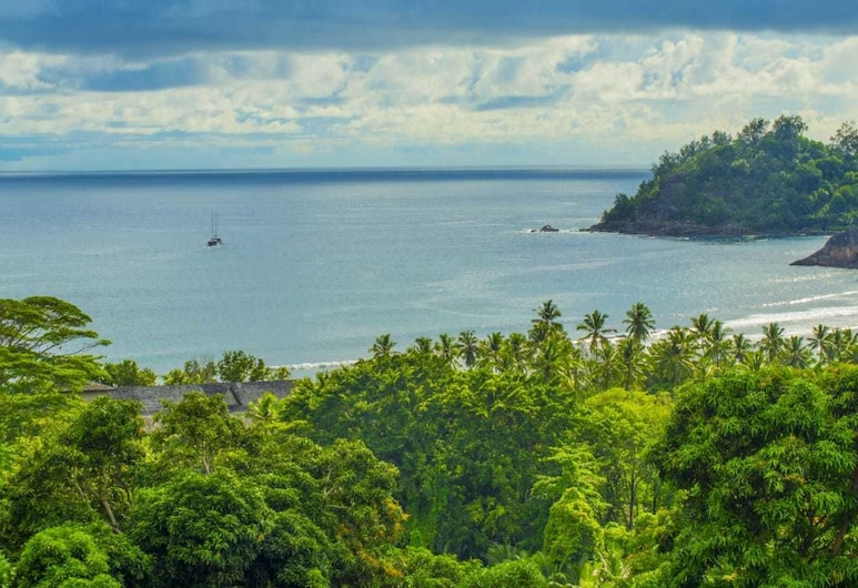 Les Elles Guesthouse Self Catering, Mahe Island, View from Hotel