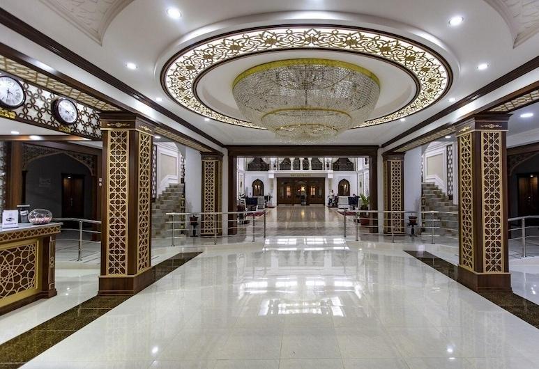 Hotel Erkin Palace, Khiva, บริเวณประตูทางเข้า