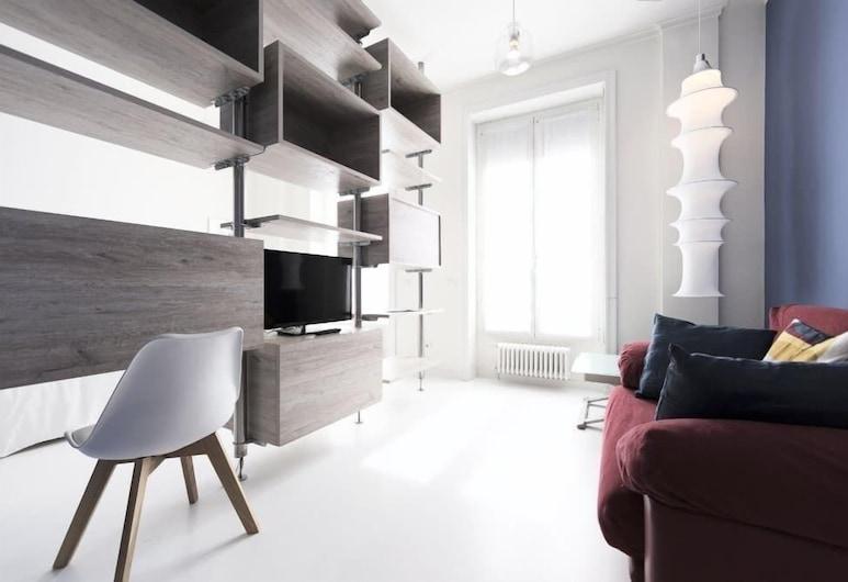 Heart Milan Apartments San Barnaba, Milan, Studio, Living Area