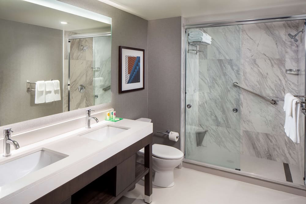 套房, 多張床, 無障礙 (Shower) - 浴室