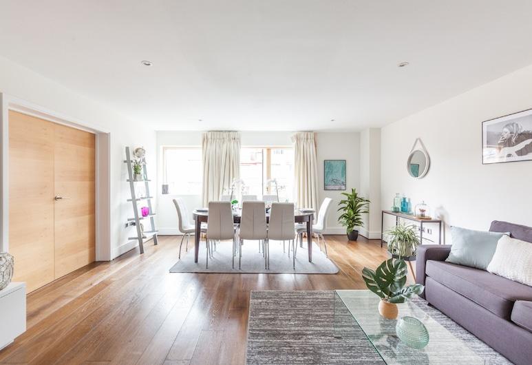 聖詹姆斯 - 西敏酒店, 倫敦, 都會公寓, 3 間臥室, 客廳
