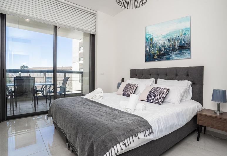 הולי סוויט ג'יי טאוור, ירושלים, Deluxe Apartment 8, חדר