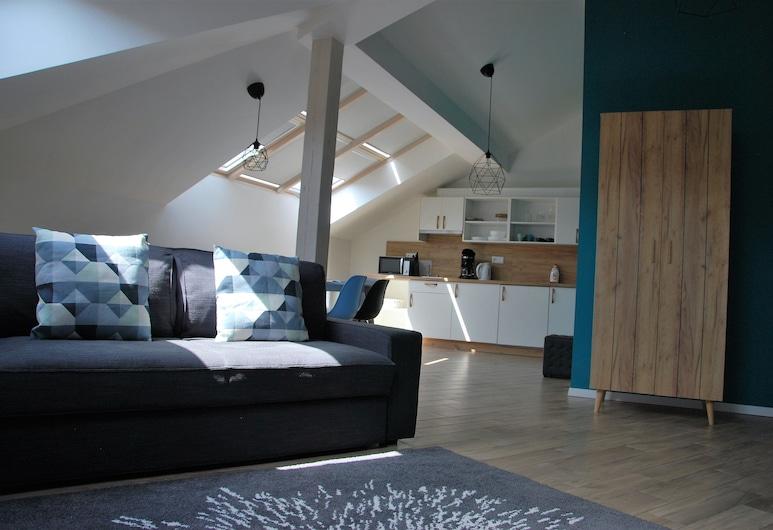 Folimanka R57 PragueStars, Prag, Apart Daire, 2 Yatak Odası, Balkon (11), Oturma Alanı