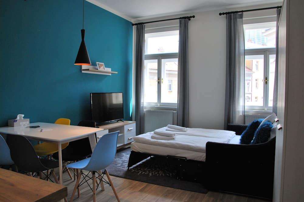 Apartment, 2Schlafzimmer, Balkon (4) - Wohnbereich