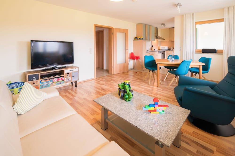 Apartmán, 2 spálne, balkón (Seerose) - Obývačka