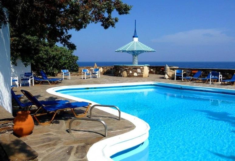 Daidalos Hotel, Ikaria, Piscina Exterior