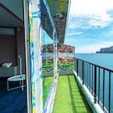 Pokój dwuosobowy typu Deluxe, widok na ocean - Taras/patio