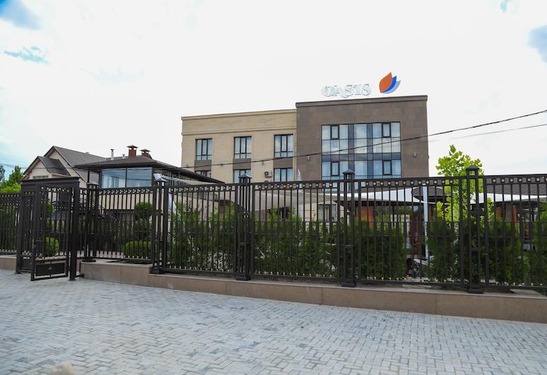 Oasis residence, Bishkek, Parte delantera del hotel