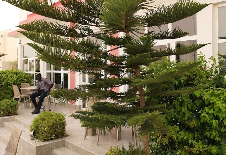 Nouakchott Hotel, Nouakchott, Taras/patio