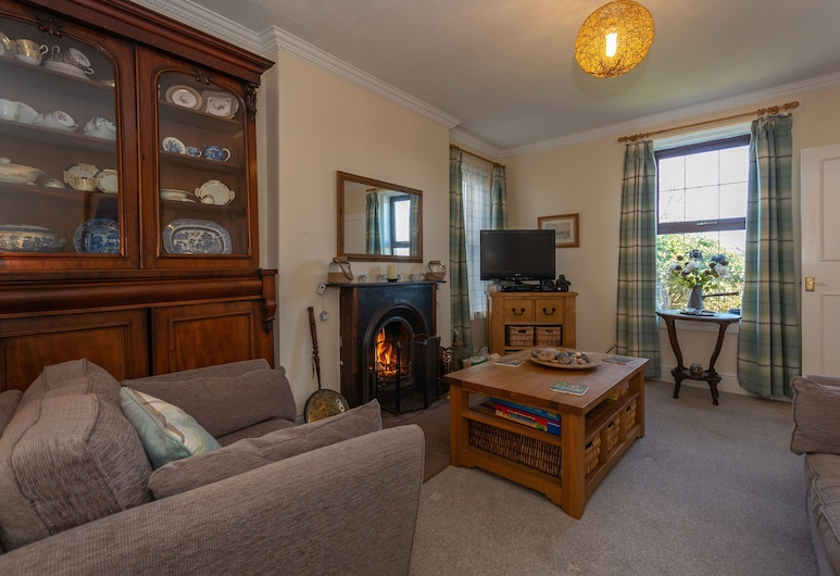 Crail Farm House Perfect for TheCowShed, Anstruther, Holiday Home, Living Area