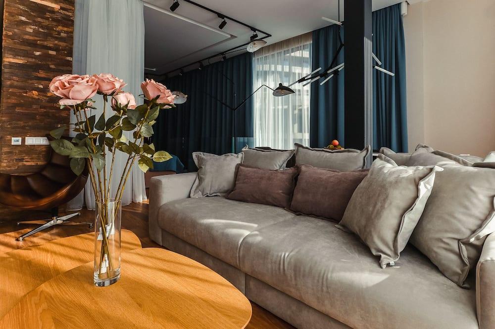 Suite, Sea View - Living Area