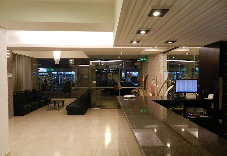 Gran Hotel Mónaco, Mar del Plata, Resepsionis