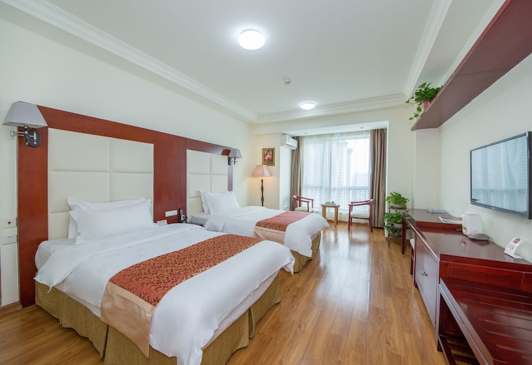 Xi'an Holiday Hotel, Xi'an, Classic Twin Room, City View, Guest Room