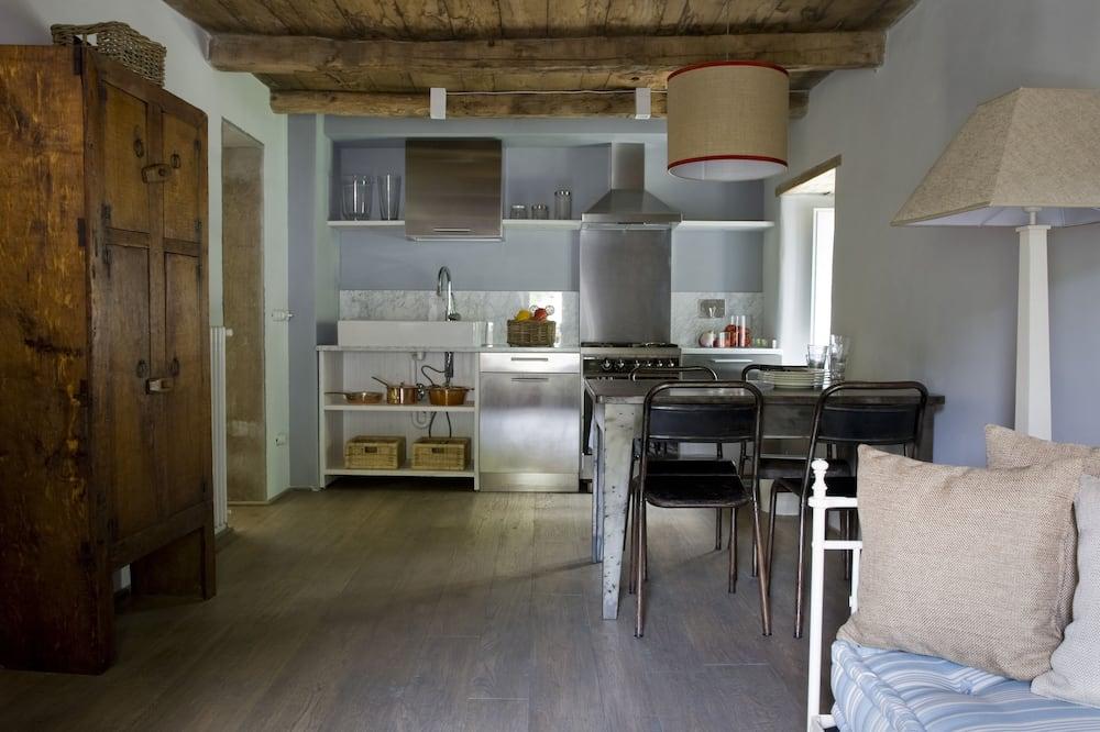 Romantisches Apartment (Pinklady) - Wohnzimmer