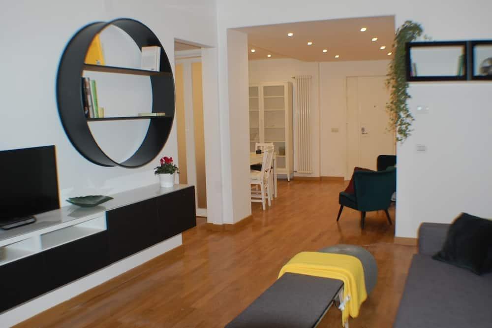Lägenhet Deluxe - 2 sovrum - Vardagsrum