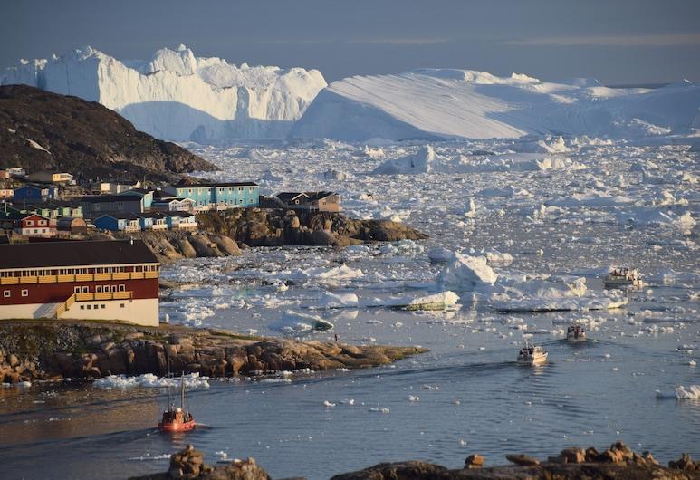 Hotel Arctic, Ilulissat, Terrace/Patio