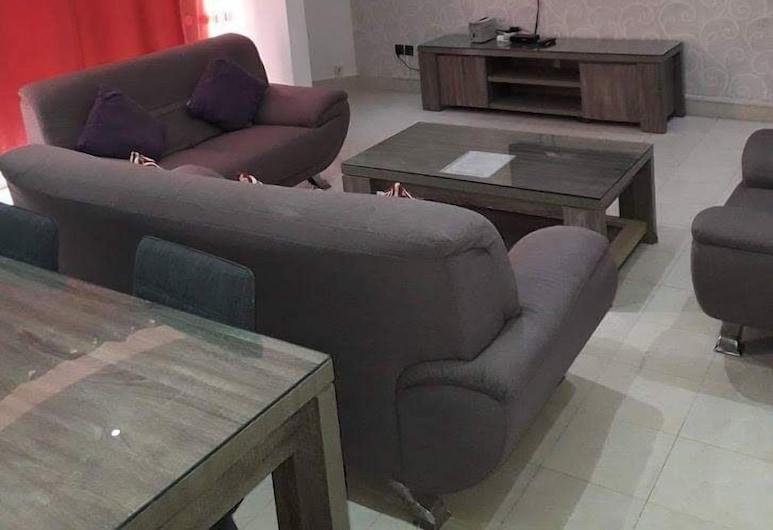泰席爾住宅酒店, 達卡, 公寓, 2 間臥室, 客廳
