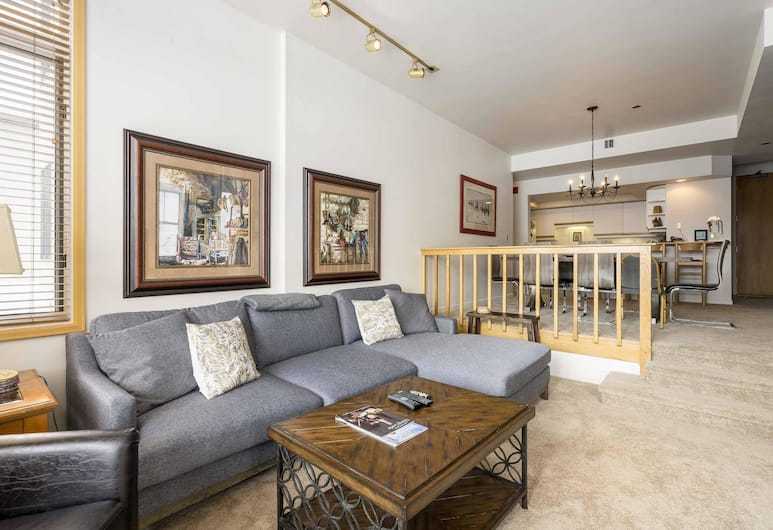 Meadows Cambridge 1, Steamboat Springs, Apartment, 3Schlafzimmer, Wohnzimmer