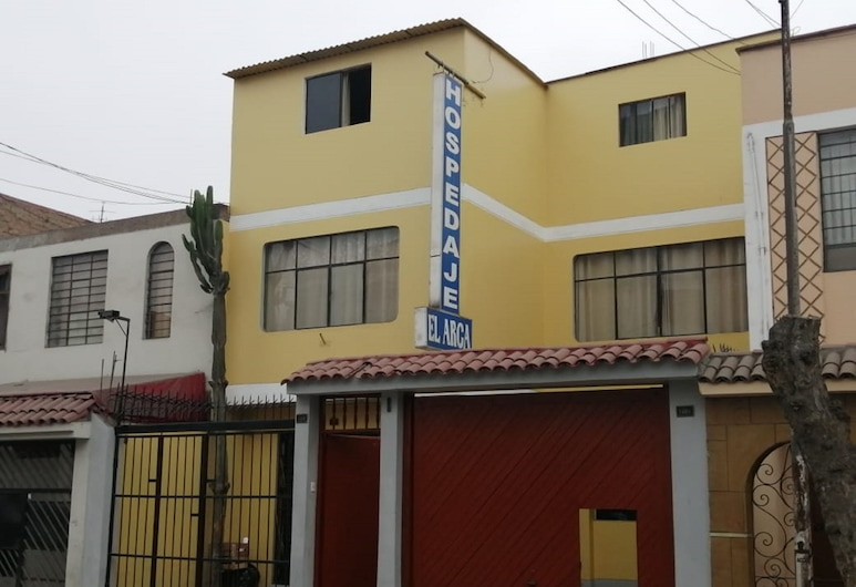 Hospedaje El Arca, Lima, Façade de l'hôtel