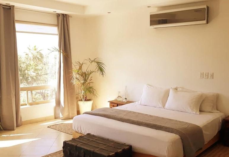 AGAVE DOWNTOWN, Todos Santos, Apartmán typu Comfort, dvojlůžko (200 cm), kuchyňský kout, výhled na město, Pokoj