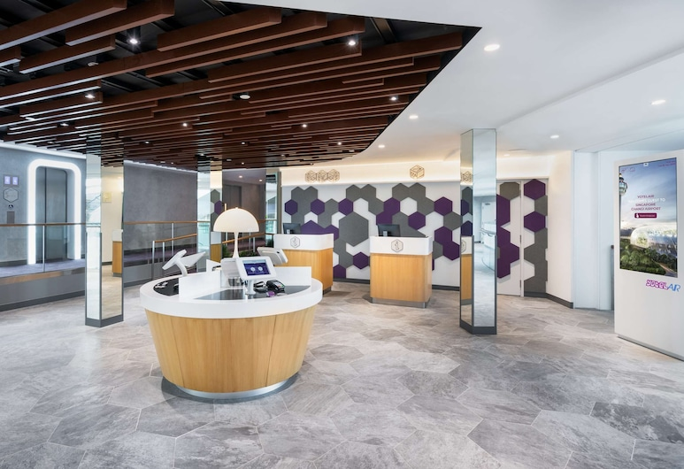 YotelAir Changi (SG Clean), Singapore, Reception