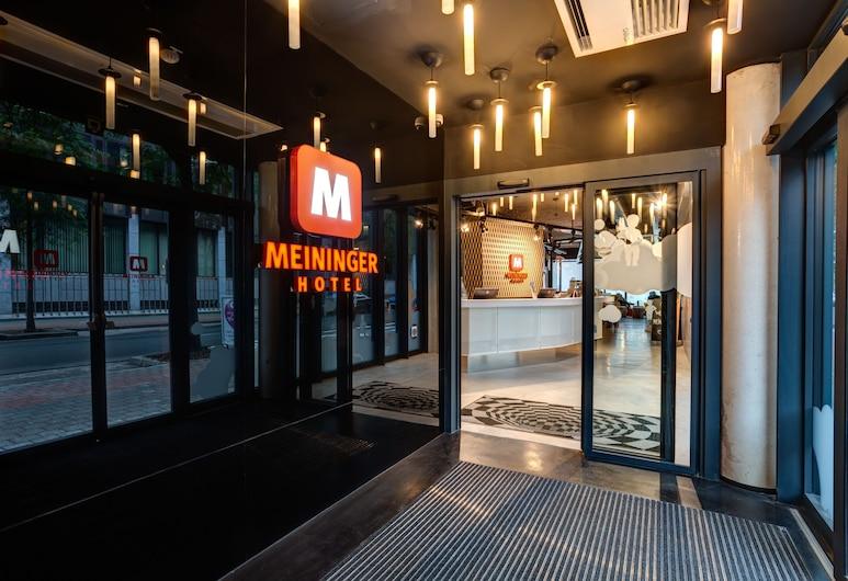 布魯塞爾南站梅寧閣飯店, 布魯塞爾, 入口