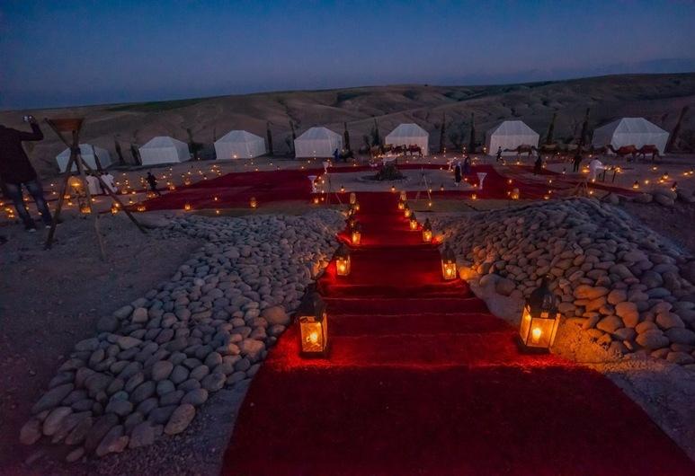 Oasis Of Agafay, Agafay, הכניסה למלון