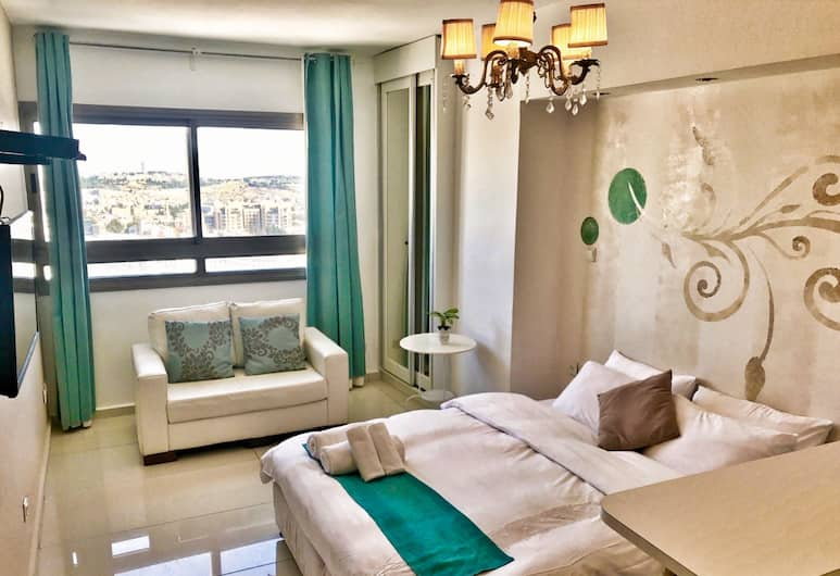 Top Of Jerusalem Apartments - City Tower, Jerusalem, City Apartment, 1 Bedroom, Non Smoking, Room