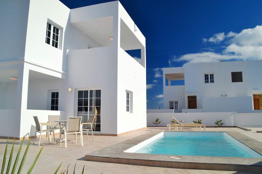 Deluxe-villa - 2 soveværelser - terrasse (26) - Privat pool