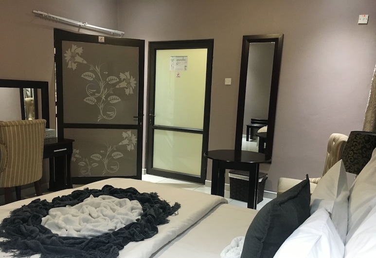 Lalla Villa Guest Lodge, Letlhakane, ห้องดีลักซ์ดับเบิล, วิวจากห้องพัก
