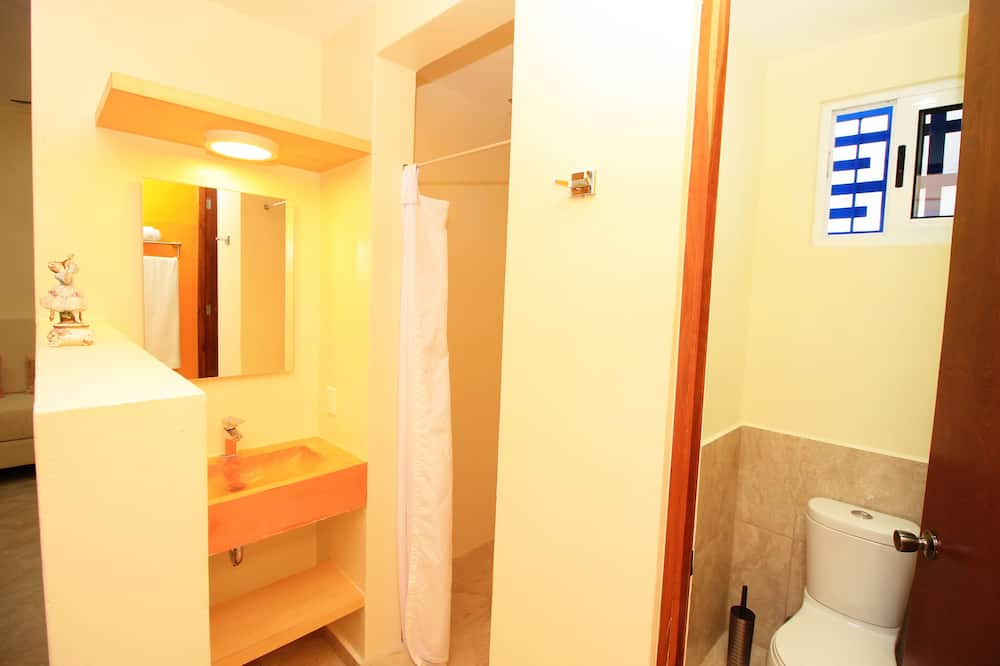 Superior Apartment, Multiple Beds, Kitchen - Bathroom